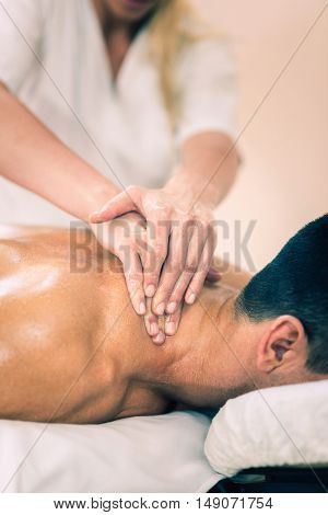 Sports Massage - Massaging Neck