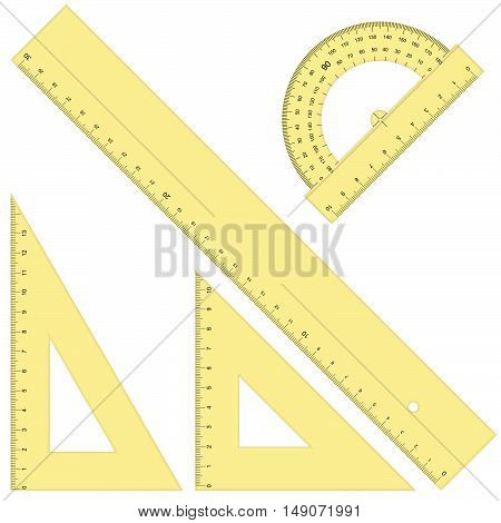 Rulers And Triangular