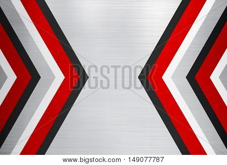 abstract metal with arrow design background
