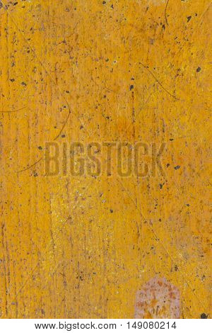 Yellow old painting floor as Background texture