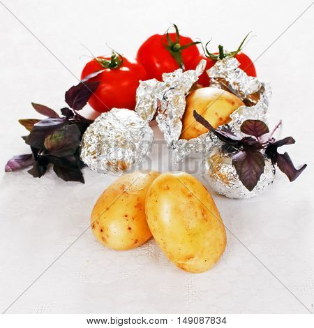 Organic Food Background. Food Photography Different Fruits And Vegetables Isolated White Background.