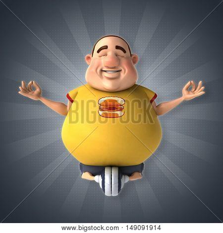 Diet - 3D Illustration
