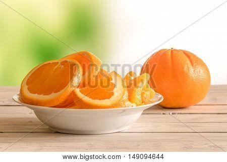 Orange Fruits In A Bowl