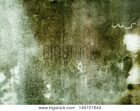 Vintage interior of stone wall cement floor. background