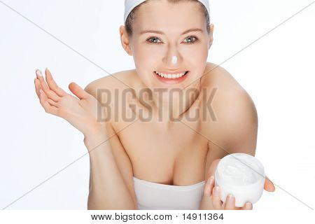 Hands In Skin Cream