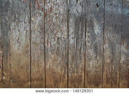 Old wooden fence. grunge wood palisade background.