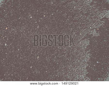 Brown dark asphalt particles shine, different textures