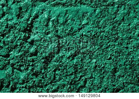Turquoise swamp surface macro natural texture photo