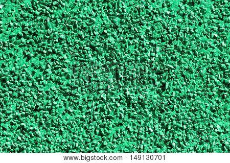 Green stones, gravel texture, macro background photo