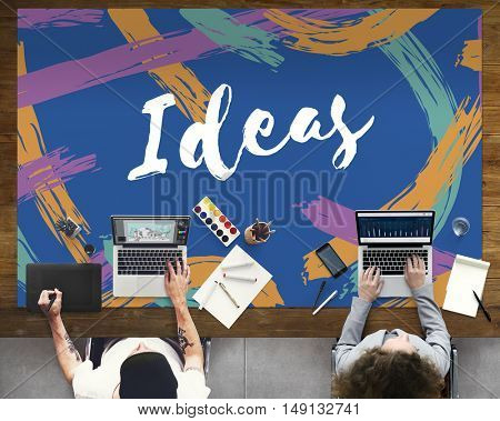 Artist Ideas Creative Imagine Word Concept