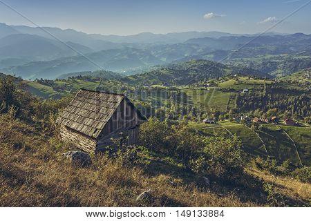 Idyllic Rural Scenery