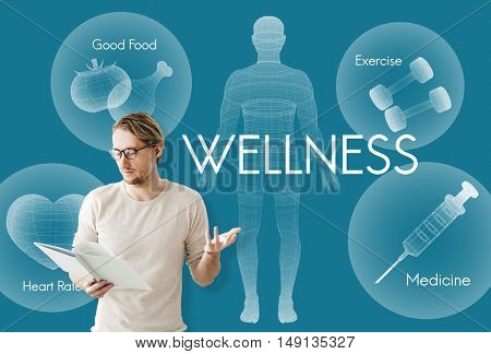 Health Well being Wellness Vitality Healthcare Concept