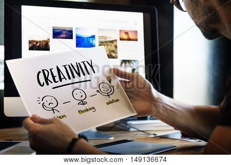 Creativity Thinking Brainstorm People Concept