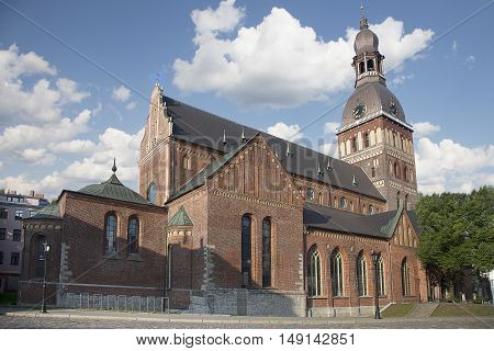 Riga Cathedral (Rīgas Doms) is the Evangelical Lutheran cathedral in Riga Latvia.