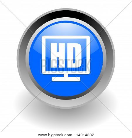 hd glossy icon