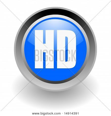 hd glossy icon