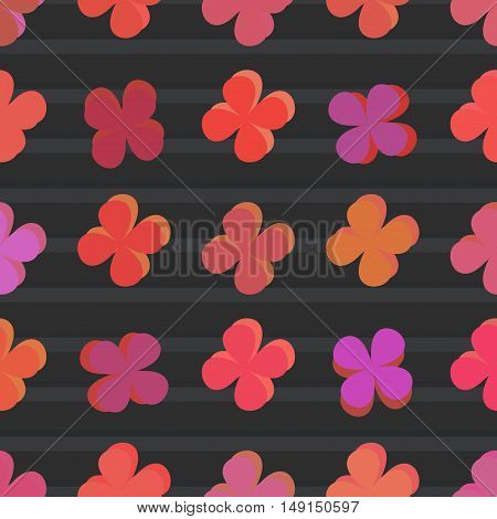 Abstract color pattern vector illustration art style