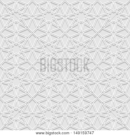 Seamless pattern with traditional ornament. Vector illustration.