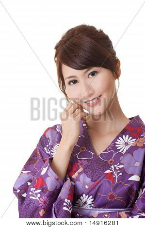 Attractive Young Japaneses Woman