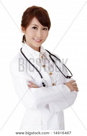 Friendly Doctor Of Asian