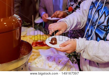 Liquid chocolate swirl Hot liquid chocolate cocoa