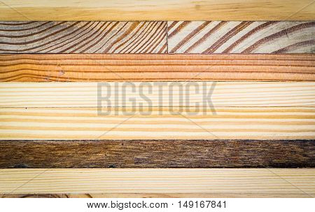 variety of wooden texture tiles wall for background and texture