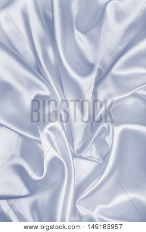Smooth Elegant Grey Silk Or Satin Texture As Background