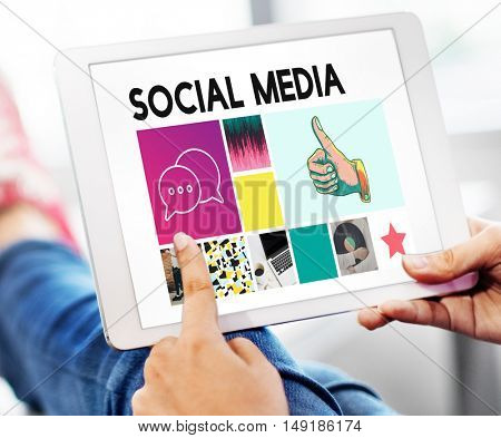 Social Media Blog Communication Chat Communication