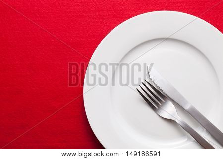 Beautifully Served Table In A Restaurant. Beautiful Served Food On Plates