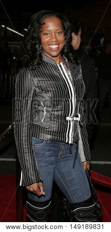 Regina King at the Los Angeles premiere of 'Get Rich or Die Tryin' held at the Grauman's Chinese Theatre in Hollywood, USA on November 3, 2005.