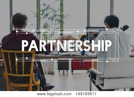Corporate Business Collaboration Connection Partnership Concept
