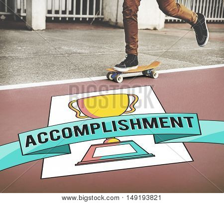 Accomplishment Achievement Success Awards Concept