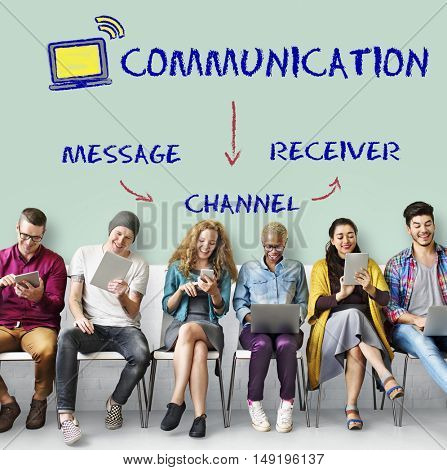Blog Chat Communication Connection Graphic Concept