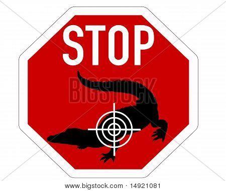 Stop Crosshair Crocodile