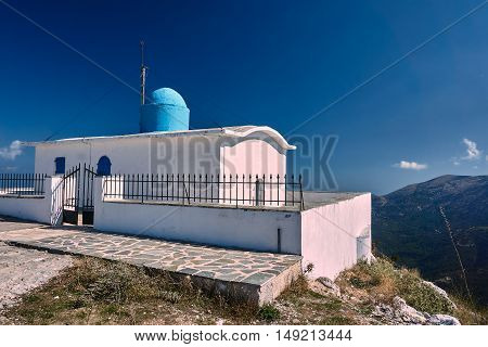 Orthodox Church of the Prophet Elias on the island of Lefkada