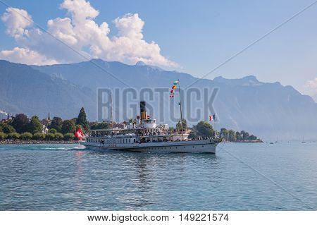 Vevey Switzerland - September 25 2016: The