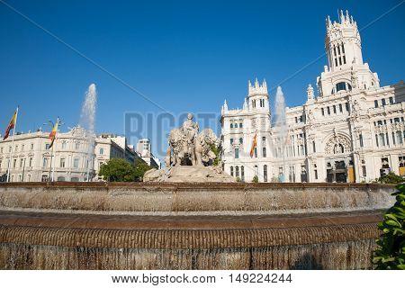 Madrid Cibeles Fountain