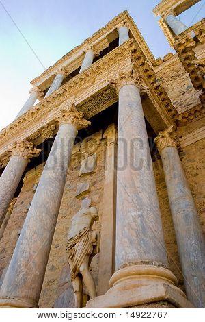 Roman Theater Of Merida