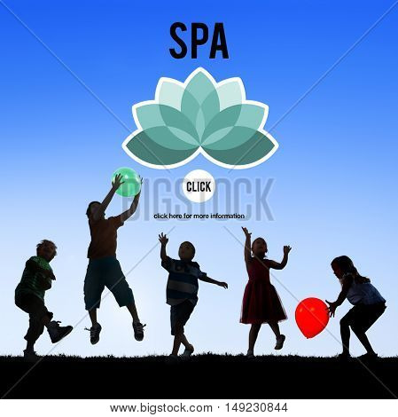 Spa Relaxation Lifestyle Activity Concept