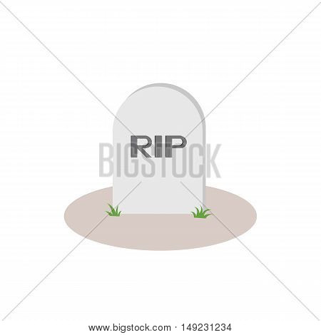 Grave Rip Icon Of Vector Esp 10