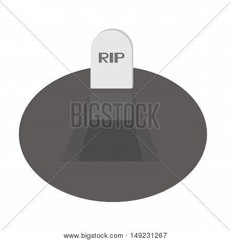 Dig Grave Rip Icon Of Vector Esp 10
