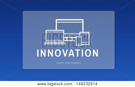 Innovation Digital Design Computer Concept