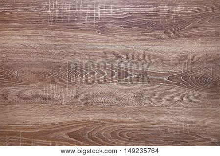 Brown wooden floor background texture close up