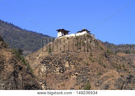 Small Temple On The Mountain