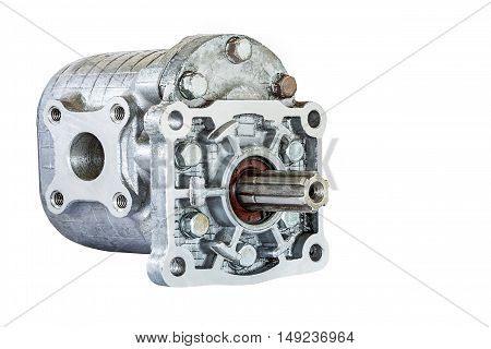 hydraulic pump are widely used in auto engineering