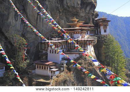Tiger's Nest, Taktsang Monastery, Bhutan