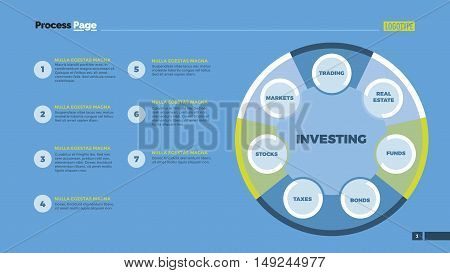 Venn diagram with nine circles. Element of presentation, diagram, layout. Concept for business templates, infographics, reports. Can be used for topics like finance, analysis, planning, statistics