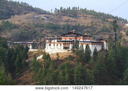 The Semtokha Dzong