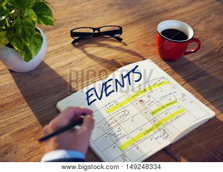 Agenda Timetable Calendar Schedule Graphic