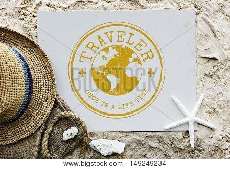 Journey Destination Explore Vacation Graphic Concept